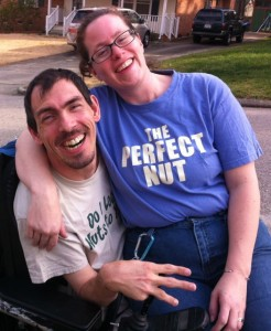 Barton and Megan Cutter dream of an accessible van.